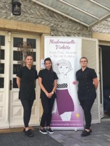 Mademoiselle Violette et la section Esthétique du Beau Rameau